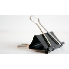 Binder Clip Black DL8354 -25mm (1doz /Box)