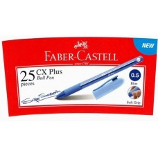 Faber Castell Ball Pen CX Plus 0.5 Blue (25pcs /Tube)