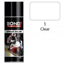 BOND 7 Spray Paint Clear 1