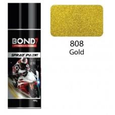 BOND 7 Spray Paint Gold 808