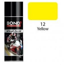 BOND 7 Spray Paint Yellow 12