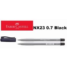 Faber Castell Ball Pen NX23 0.7 Black (30pcs /Tube)
