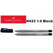 Faber Castell Ball Pen NX23 1.0 Black (30pcs /Tube)