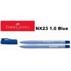 Faber Castell Ball Pen NX23 1.0 Blue (1x30)