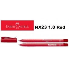 Faber Castell Ball Pen NX23 1.0 Red (1x30)